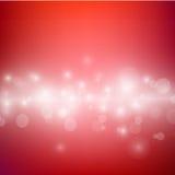 Illustrazione astratta di vettore di tono di colore rosso Immagini Stock