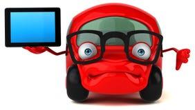 Illustrazione automobilistica 3D di divertimento Fotografie Stock