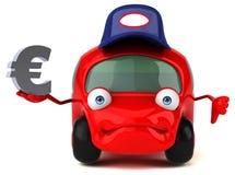 Illustrazione automobilistica 3D di divertimento Fotografia Stock