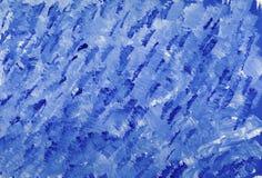 Illustrazione blu di progettazione di arte della pittura del fondo di astrazione di struttura delle bande illustrazione vettoriale