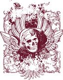 Illustrazione cattiva di angelo Immagine Stock Libera da Diritti
