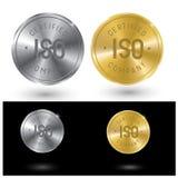 Illustrazione che consiste di due immagini del marchio di qualità Immagine Stock Libera da Diritti