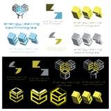illustrazione che consiste di parecchie immagini sotto forma di simbolo Fotografie Stock