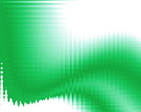 Illustrazione con i colori verdi Immagini Stock