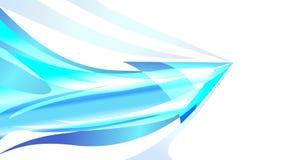 Illustrazione concettuale di vettore della pagina di progettazione del fondo della freccia Fotografia Stock Libera da Diritti