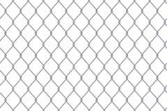Illustrazione creativa di vettore del metallo d'acciaio della rete metallica del recinto del collegamento a catena isolato su fon illustrazione vettoriale