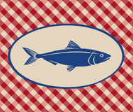 Illustrazione d'annata della sardina Immagine Stock