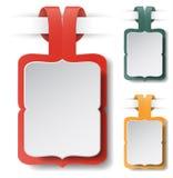 Illustrazione d'annata di vettore dell'etichetta Fotografia Stock