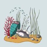 illustrazione 3D Coral Reef royalty illustrazione gratis