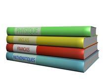 Libri per la scuola Immagini Stock Libere da Diritti