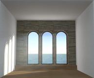 illustrazione 3D dell'interno vuoto libero Immagine Stock