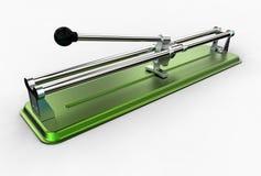 illustrazione 3D delle tagliapiastrelle Immagini Stock
