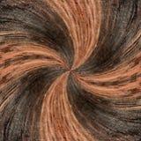 illustrazione 3D Immagine astratta di una superficie di legno di un albero Immagini Stock Libere da Diritti