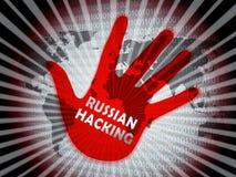 Illustrazione d'incisione russa di allarme di attacco di elezione 2d royalty illustrazione gratis