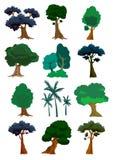 Illustrazione degli alberi dentro   Immagini Stock