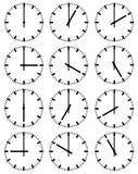 Illustrazione degli orologi illustrazione di stock
