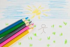 Illustrazione dei bambini Fotografie Stock