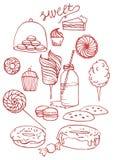 Illustrazione dei dolci Immagine Stock Libera da Diritti
