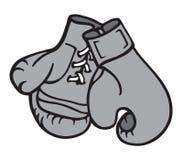 Illustrazione dei guanti di inscatolamento Immagine Stock