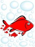 Illustrazione dei pesci Immagine Stock Libera da Diritti