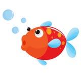 Illustrazione dei pesci Fotografia Stock Libera da Diritti