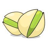 Illustrazione dei pistacchi Fotografie Stock