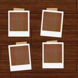 Illustrazione dei Polaroids Immagini Stock