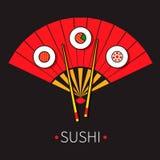 Illustrazione dei sushi Fotografia Stock Libera da Diritti