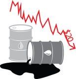 Illustrazione 07 del barile da olio Fotografie Stock