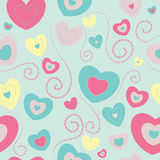 Illustrazione del biglietto di S. Valentino royalty illustrazione gratis
