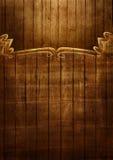 Illustrazione del blocco per grafici di legno Fotografia Stock