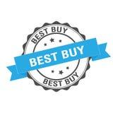 Illustrazione del bollo di Best Buy Fotografia Stock Libera da Diritti