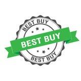 Illustrazione del bollo di Best Buy Fotografie Stock