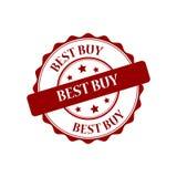 Illustrazione del bollo di Best Buy Immagini Stock