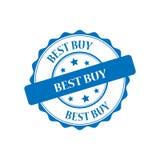Illustrazione del bollo di Best Buy Immagine Stock