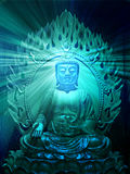 Illustrazione del Buddha Fotografia Stock