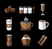 Illustrazione del caffè Fotografia Stock