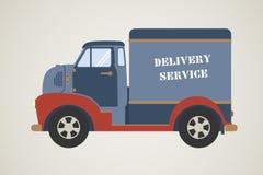 Illustrazione del camion di consegna Immagine Stock Libera da Diritti