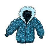 Illustrazione del cappotto Fotografia Stock