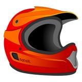 Illustrazione del casco fotografia stock