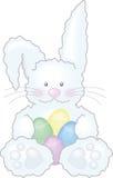 Illustrazione del coniglietto di pasqua Fotografie Stock