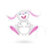 Coniglietto di luppolizzazione royalty illustrazione gratis