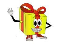 Illustrazione del contenitore di regalo Immagine Stock Libera da Diritti