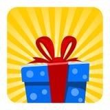 Illustrazione del contenitore di regalo del fumetto di vettore royalty illustrazione gratis