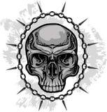 Illustrazione del cranio Immagini Stock Libere da Diritti