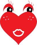 Illustrazione del cuore Fotografia Stock
