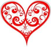 Illustrazione del cuore Immagini Stock