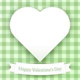 Illustrazione del cuore di vettore Fotografie Stock