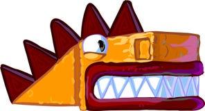 Illustrazione del drago del fumetto Fotografia Stock
