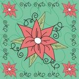 Illustrazione del fiore Fotografie Stock